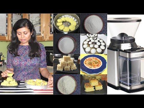 Homemade  Flour Mixes of Dhokla, Khaman, Idli, Dosa Video Recipe | Bhavna's Kitchen