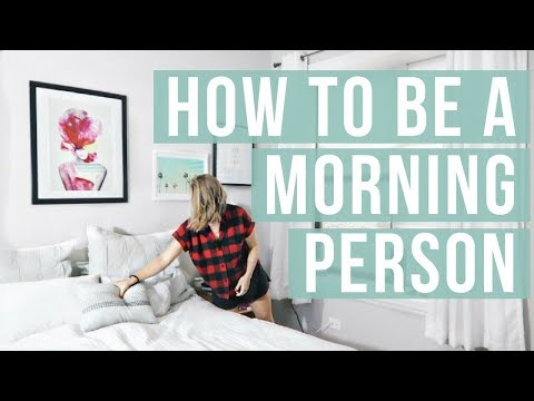 HOW TO BE A MORNING PERSON | Join The Early Riser Challenge