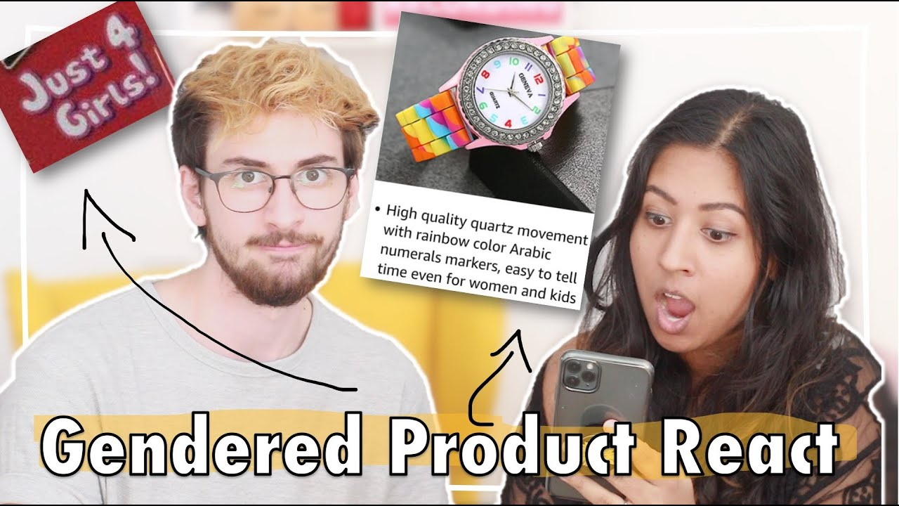 Reacting To Pointlessly Gendered Products | ft. @Shaaba.