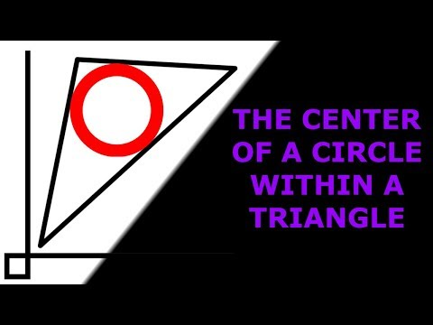 Finding the incenter of a triangle with coordinates | ZJ learning | Straight Lines#20