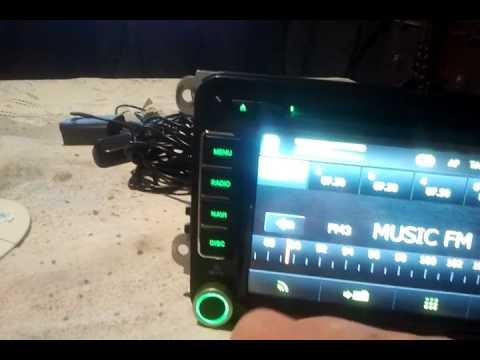 ICARTECH AURORA V7 NAVIGATION ANDROID HEAD UNIT GPS DVD VW SEAT SKODA