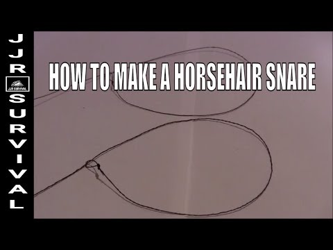 How To Make A Horsehair Snare