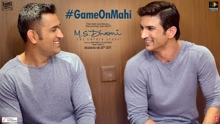 M.S.Dhoni - The Untold Story   Feat M.S.Dhoni & Sushant Singh Rajput   Game on Mahi