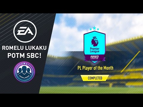 Player of the Month - March - Romelu Lukaku Squad Building Challenge