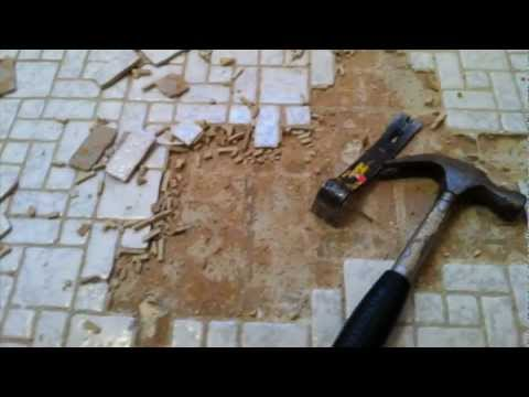 How To Remove Floor Tile