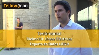 LIDAR for Drone 2016 - Dielmo3D líneas eléctricas experto en datos LiDAR , testifica