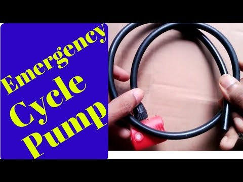 How to make an Emergency Cycle Pump