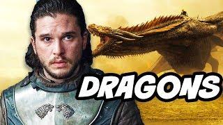Game Of Thrones Season 7 Jon Snow Dragon Theory
