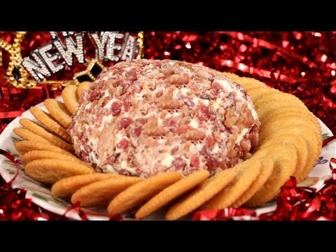 Bacon Cheese Ball - Happy New Year!