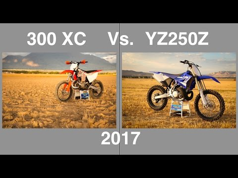 Download 2017 KTM 300 XC vs 2017 Yamaha YZ250X part 1