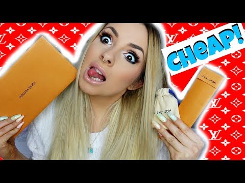 I BUY THE CHEAPEST THING ON LOUIS VUITTON!!! *Under $10??*