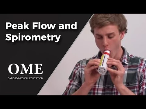 Peak Flow and Spirometry - Lung Function Tests