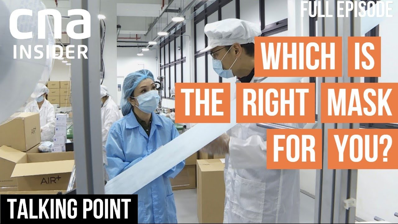 Reusable Or Surgical - Which Is The Right Mask For You? | Talking Point | Full Episode