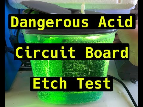 New PCB Chemical Etch Test
