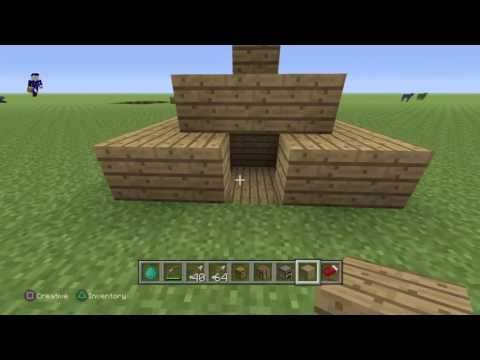 Minecraft: how to build a safety house /shelter in 2 min
