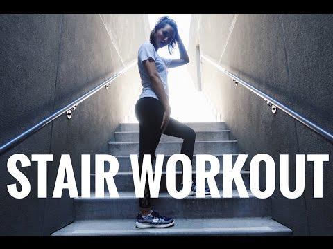 Stair Workout | Burn Fat | Butt, Legs & Core Workout