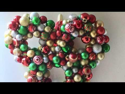 DIY Mickey Mouse Christmas Wreath