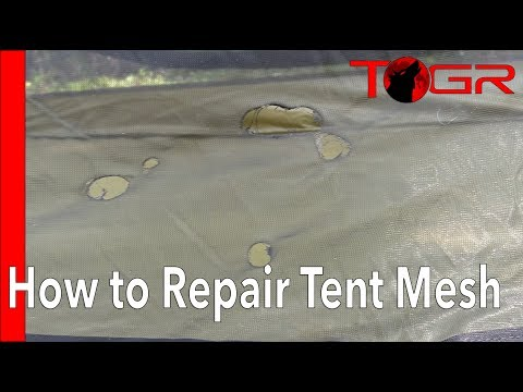 Simple and Easy - How to Fix Tent Mesh – Quick Instruction Guide