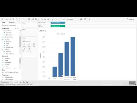 Creating Bins in Tableau