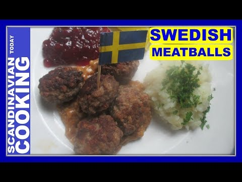 How to Make Swedish Meatballs  🎄 Homemade Meatball Recipe from Scratch