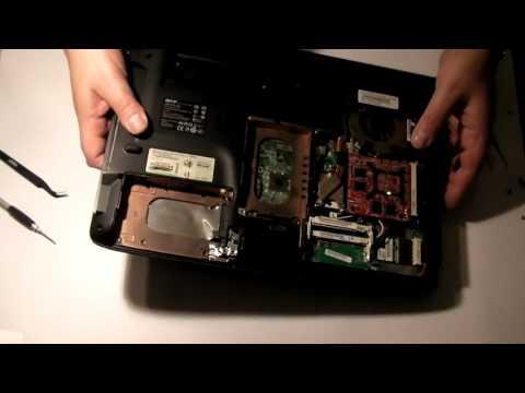 Disassembling Acer Aspire 6530G - 704G64Mn laptop
