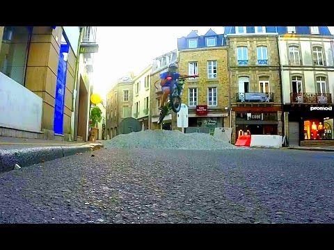 DH URBAINE ! MTB FREERIDE IN THE CITY