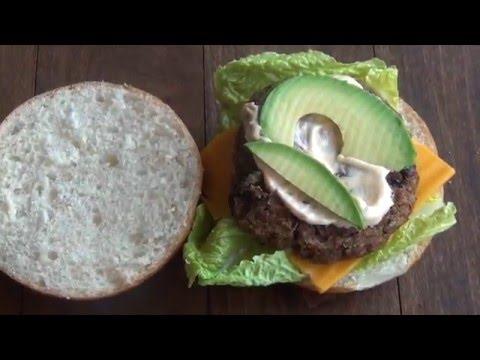 The BEST Black Bean Burger