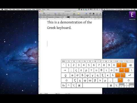 Polytonic Greek Keyboard on the Mac