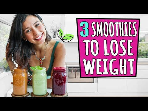 3 SMOOTHIES TO LOSE WEIGHT🌿Rawvana