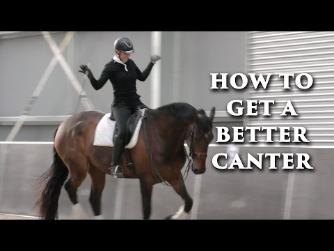 How To Get A Better Canter - Dressage Mastery TV Ep 124