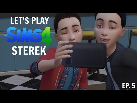 LET'S PLAY THE SIMS 4: Sterek (Ep. 5: Playing Hooky)