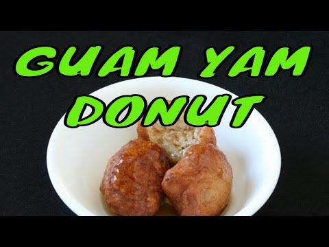 Bonelos dago, bonelos dagu or yam doughnuts