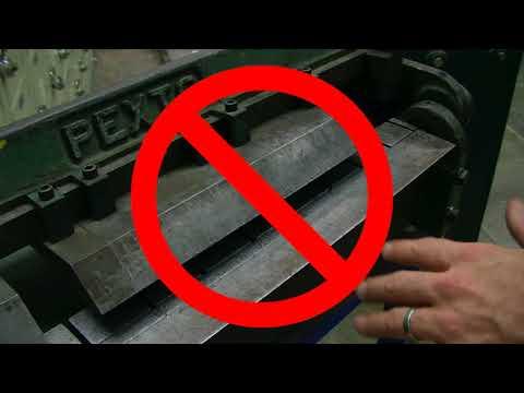 Box and Pan Brake Safety and Operation