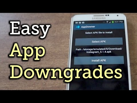 Easily Downgrade Android Apps to the Versions You Like Best [How-To]