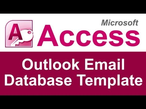 Access to Outlook Email Database Template