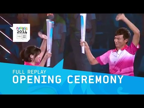Opening Ceremony | Full Replay | Nanjing 2014 Youth Olympic Games
