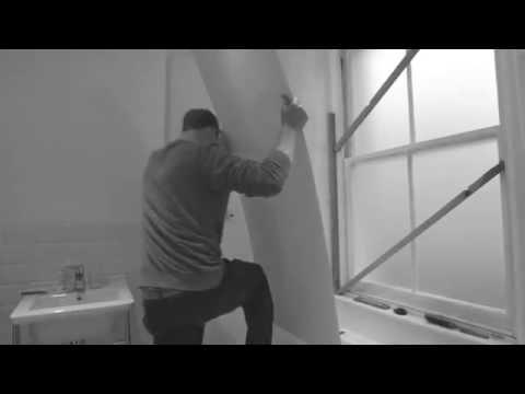 MERMAID Acrylic Shower Panel Installation