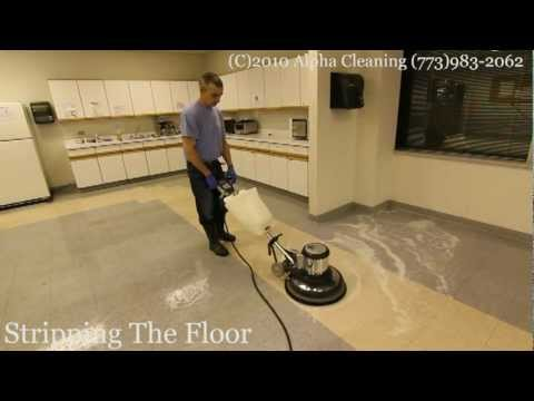 Floor stripping, buffing and waxing Bolingbrook IL