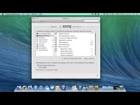 Create Custom Mac Keyboard Shortcuts on OS X Mavericks