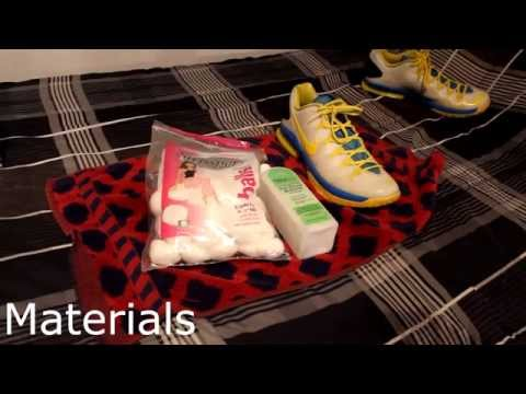 How to remove scuf marks off shoes