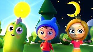 Download Песенка для детей - Солнце и Луна - Новый мультик малышам Video