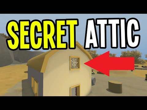 Unturned - FOUND A SECRET BARN ATTIC!! - Greece Map Modded Survival - Ep. 16