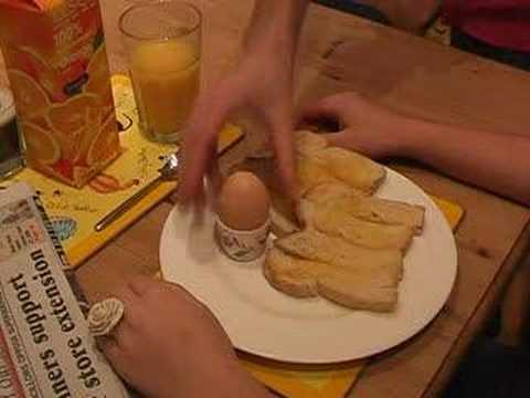 Egg and Toasted Soldiers
