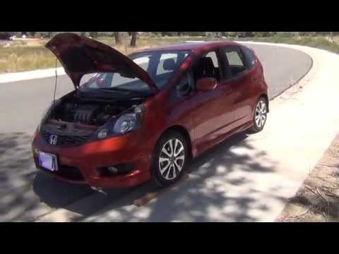Honda Fit - Oil Change Made Easy