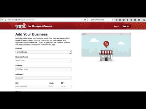 How to Claim Your Business on Yelp