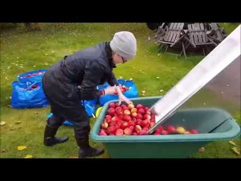 DIY Cider Press - Cider Making 2016
