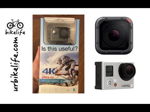 Action Camera Review: GoPro Hero3 vs GoPro HeroSession5 vs Cheap Action 4K camera