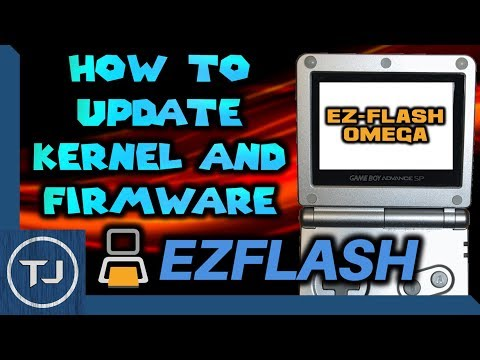 How To Update EZ-Flash Omega Kernel & Firmware!