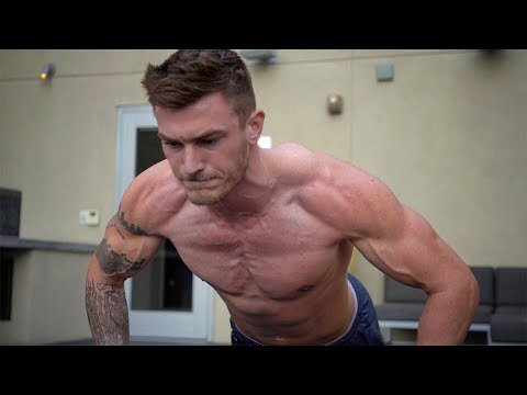 V Shred Quick Bodyweight Chest Workout   5 Chest Exercises at Home