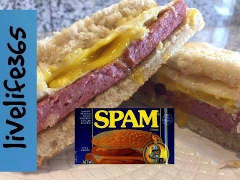 How to...Make a Killer Fried Egg & Spam Sandwich
